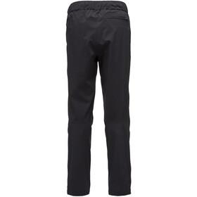 Black Diamond Stormline Stretch Pantalones de lluvia Hombre, black